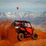 Maverick Sport DPS – Can-Am Red – Desert 1