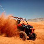 Maverick Sport DPS – Can-Am red – Dunes 2