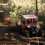 Maverick Sport DPS – Can-Am red – Trail 8