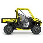 2019 Defender X mr HD10 Carbon Black _ Sunburst Yellow_side right