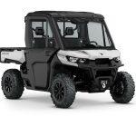 2019 Defender XT CAB HD10 Hyper Silver_3-4 front