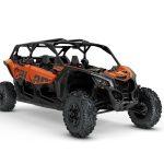 2019 Maverick X3 MAX X ds TURBO R Phoenix Orange Metallic_3-4 front