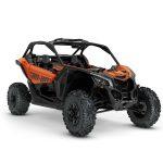 2019 Maverick X3 X ds TURBO R Phoenix Orange Metallic_3-4 front