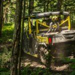 Defender MAX Xmr – Carbon black _ sunburst yellow – Trail riding 5