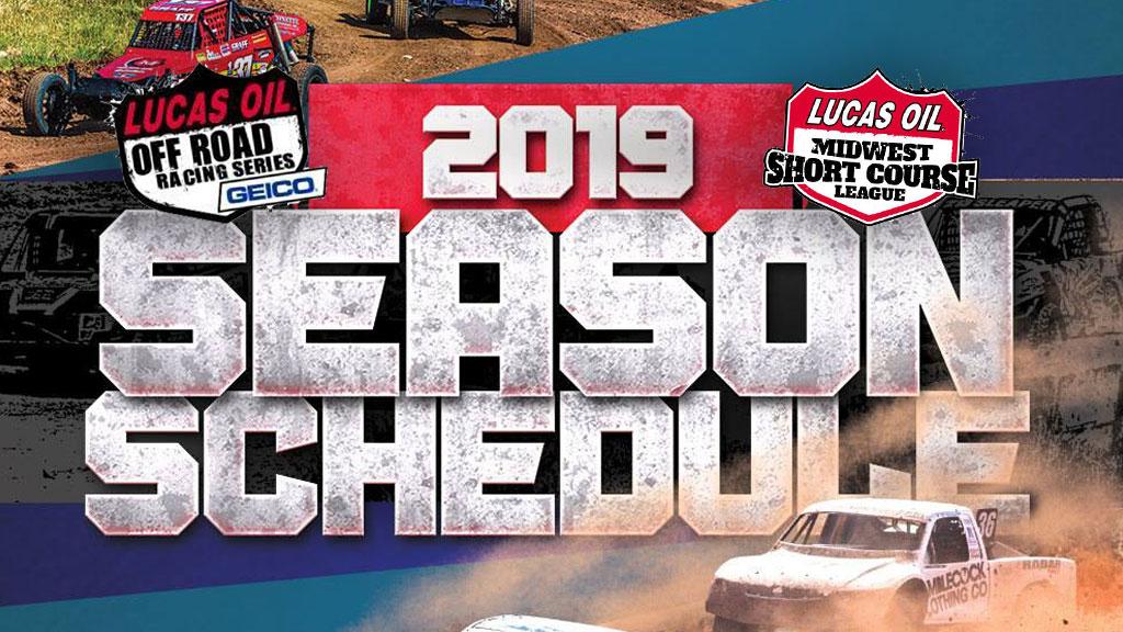 2019 LOORRS Schedule