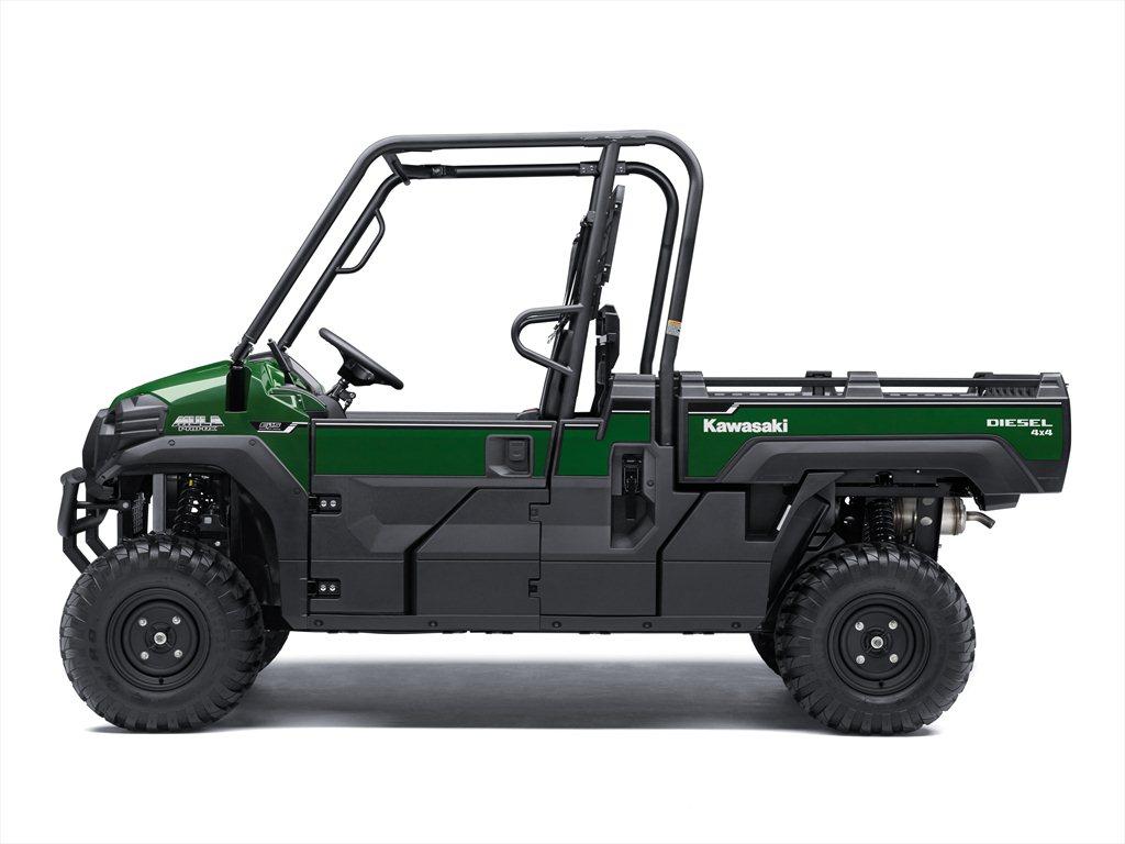 KAWASAKI INTRODUCES 2021 SIDE X SIDE AND ATV MODELS